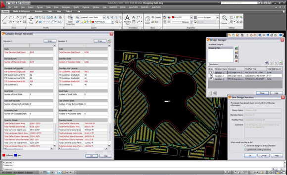 Save  update  and recall multiple design iterations of the parking layouts  Manage different plans in a single drawing for printing or presentation. ParkCAD  Parking Lot Design and Layout Software  Parking Facility